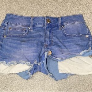 AMERICAN EAGLE OUTFITTERS SHORTIE SHORTS SIZE 2